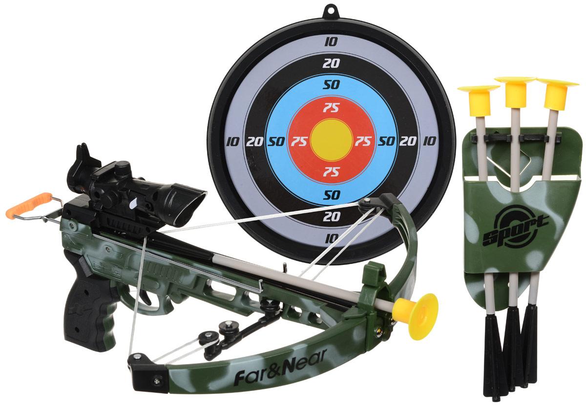 Far&Near со стрелами и мишенью