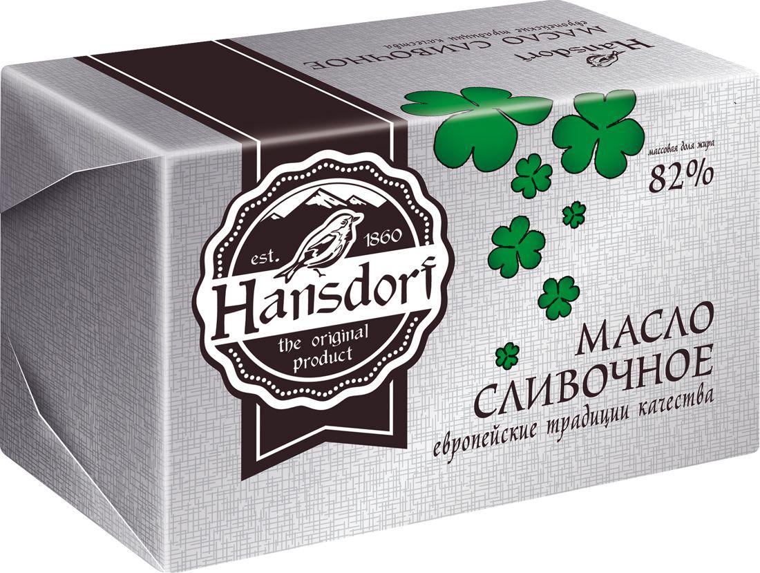 Hansdorf Масло сливочное 82%, 400 г