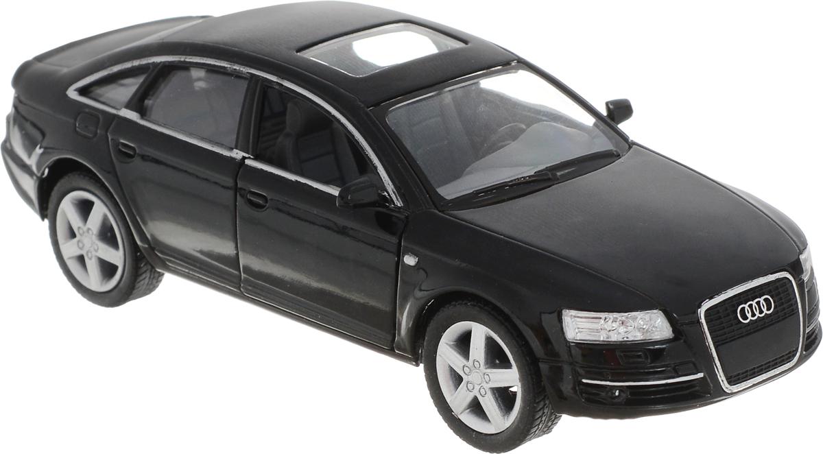Kinsmart Модель автомобиля Audi A6 цвет черный купить шины б у для audi a6 в перми