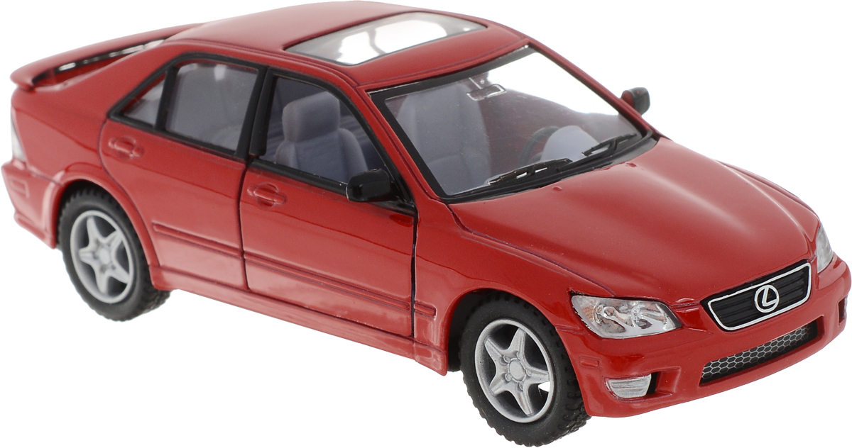 Kinsmart Модель автомобиля Lexus IS300 цвет красный журнал моделей а1 мужские пиджаки авторские модели пароль для заказа лекал 5 выкроек