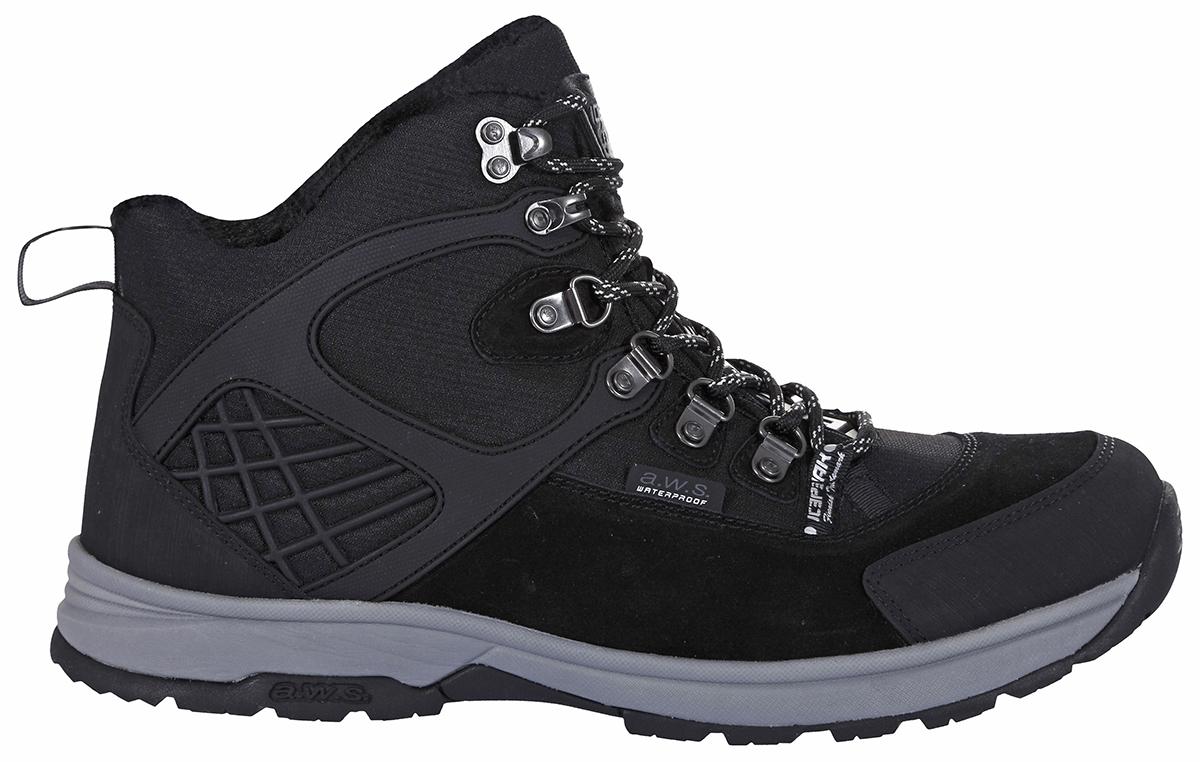 Ботинки мужские Icepeak, цвет: черный. 878215100IV_990. Размер 43 (42)878215100IV_990Мужские ботинки от Icepeak - отличный вариант обуви для прогулок за городом. Верх обуви выполнен из водонепроницаемого нейлона со вставками из натуральной замши. Подкладка из искусственного меха и ЭВА-стелька из войлока не дадут ногам замерзнуть. Шнуровка надежно фиксирует модель на ноге. Подошва с рифлением гарантирует идеальное сцепление на любой поверхности. Стильные и удобные ботинки - необходимая вещь в вашем гардеробе.