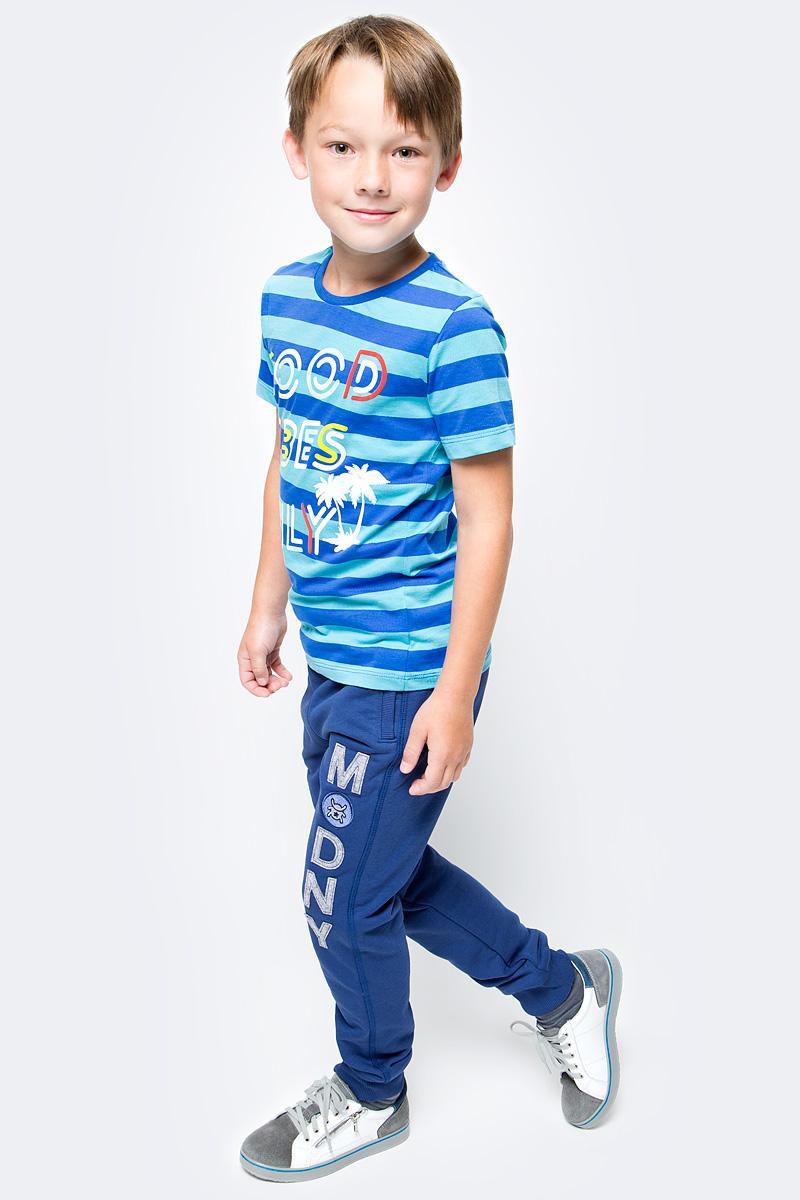 Футболка для мальчика Cherubino, цвет: синий. CSJ 61595. Размер 152 ручки otto hutt oh001 61595