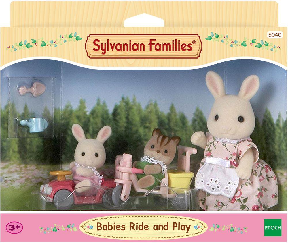 Sylvanian Families Игровой набор Детская прогулка игровой набор sylvanian families мама кролик и холодильник 2202