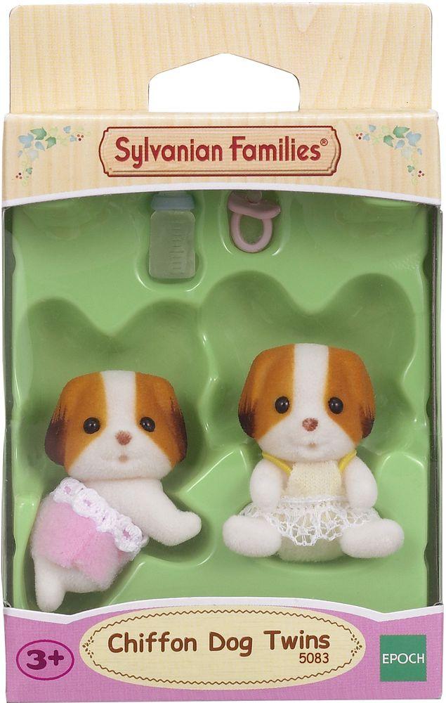 Sylvanian Families Набор фигурок Шифонские щенки-двойняшки игровые наборы sylvanian families набор двойняшки в коляске