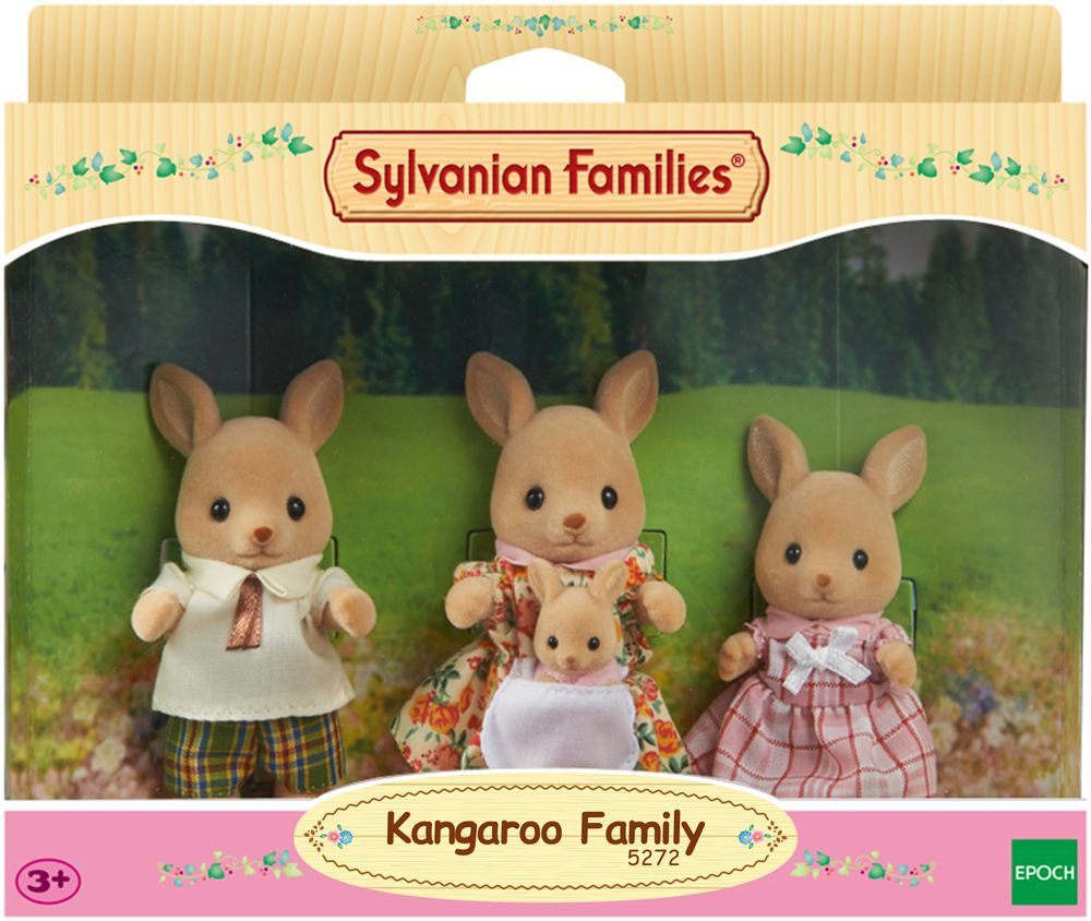 Sylvanian Families Набор фигурок Семья Кенгуру new e27 gu10 rgb led bulb light bombillas 4w 16 color change mr16 e14 led lamp spotlight lampada with remote controller dimmable