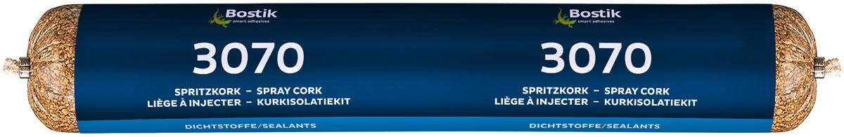 Герметик пробковый Bostik 3070, 0,5 л30110970Герметик Жидкая пробка с растворителемЭластичный герметик на основе натурального пробкового гранулята и связующего вещества с добавлением растворителя.Предназначен для заполнения демпферных зазоров (пристенных и межкомнатных) при укладке паркетной доски, паркета, ламината и других деревянных напольных покрытий. Подходит для заполнения швов при монтаже оконных и дверных проемов, декорирования внутренних швов и трещин в строениях из: оцилиндрованного бревна, цельного профилированного бруса, сухого клееного бруса, нестроганного бруса, бревен ручной рубки. Применяется для заполнения внутренних швов при строительстве из SIP-панелей (OSB + пенополистирол) каркасно-щитовых домов, компенсационных внутренних швов.Требует защиты эластичным герметиком при наружных работах.- Натуральный пробковый гранулят - прекрасное визуальное сочетание с деревянными поверхностями;- Не дает усадки;- После высыхания стойко переносит воздействие температур в интервале от -30°С до +120°С;- Обладает тепло- и звукоизолирующими свойствами. Расход: При поперечном размере швов 5 х 5 мм одного картриджа достаточно примерно на 12 погонных метров.