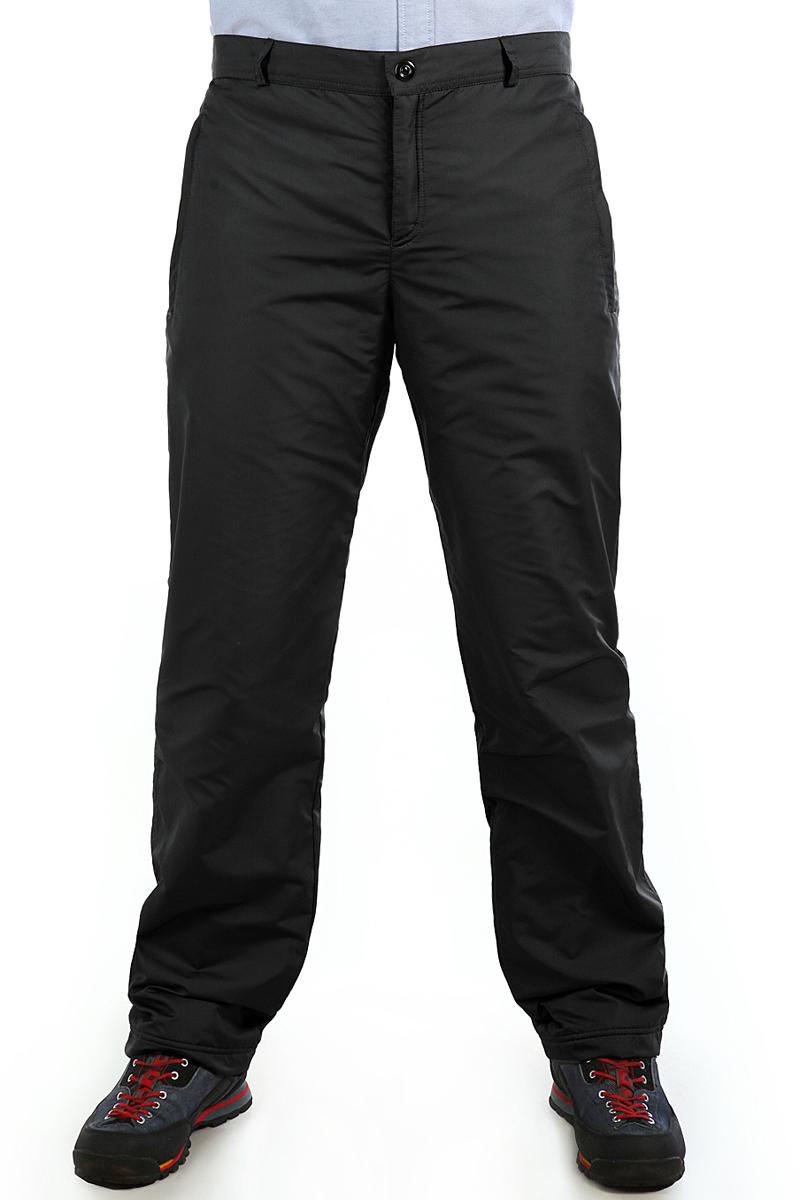 Брюки утепленные мужские Xaska, цвет: черный. 16417. Размер 5616417_BlackУтепленные мужские брюки изготовлены из высококачественного полиэстера. В качестве утеплителя используется полиэстер.Модель прямого кроя застегивается на пуговицы в поясе и ширинку на застежке-молнии.