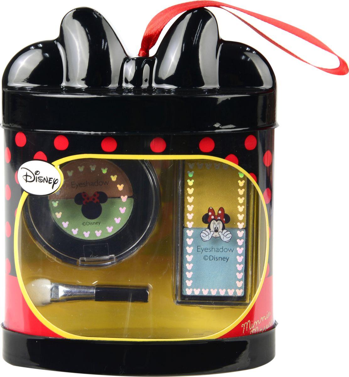 Markwins Игровой набор детской декоративной косметики Minnie 97028519702851С таким набором теней ваша маленькая можница почувствует себя настоящим визажистом! В комплекте: тени для век 4 оттенка, аппликатор 1 шт.