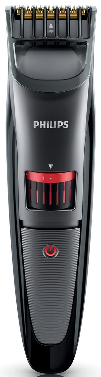 Philips QT4015/15 триммер для бороды с 20 установками длиныQT4015/15Машинка-триммер для бороды и щетины Philips QT4015/15. Точность 0,5 мм:Для получения эффекта трехдневной щетины выберите минимальную установку длины триммера 0,5 мм.Установки длины легко выбрать и зафиксировать, от 0,5 мм до 10 мм: Просто поверните колесико для выбора и фиксации нужной установки длины: от установки для трехдневной щетины 0,5 мм до длинной бороды 10 мм (шаг 0,5 мм). Превосходное качество стрижки благодаря лезвиям с титановым покрытием: Современные титановые лезвия обеспечат превосходное качество стрижки и долго останутся острыми.Закругленные концы гладко скользят по коже:Лезвия всегда остаются очень острыми и гарантируют быструю и аккуратную стрижку, а закругленные края и гребни предотвращают раздражение кожи. Эргономичный дизайн для удобства использовани: Удобно держать и использовать — конструкция прибора позволяет обрабатывать даже труднодоступные участки.Защитный чехол для хранения и поездок:Дорожный чехол защищает устройство во время поездок и хранения. Гарантия 2 года, поддерживает напряжение разных стандартов, не требует смазки:Все наши приборы для ухода за волосами созданы для долгой службы. Во всех странах на них распространяется 2-летняя гарантия, а также они поддерживают напряжения разных стандартов и не требуют смазки.Индикатор указывает состояние аккумулятора (низкий заряд/полный заряд/зарядка):Когда аккумулятор полностью заряжен, индикатор светится зеленым светом, мигающий оранжевый индикатор свидетельствует о низком уровне заряда, а мигающий зеленый — о выполнении зарядки.Съемная насадка упрощает очистку: Для удобства при очистке снимите головку и промойте под струей воды. Прежде чем снова прикрепить к прибору, полностью просушите ее. 60 минут автономной работы после зарядки в течение 1 часа:Можно использовать автономно или подключить к розетке. 1-часовой зарядки хватит на 60 минут автономной работы прибора.
