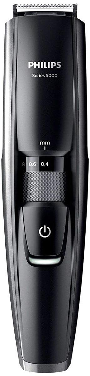 Philips BT5200/16 триммер для бороды с 17 установками длиныBT5200/16Триммер Philips BT 5200/16, оснащенный металлическими лезвиями, позволяет создать идеальный образ в соответствии с пожеланиями, будь то трехдневная щетина, короткая или длинная борода. Новый встроенный гребень приподнимает волоски для точного и эффективного подравнивания одним движением.Динамическая система подравнивания и встроенный гребень приподнимают волоски к лезвию для равномерного подравнивания и создания эффекта трехдневной щетины, а также моделирования короткой или длинной бороды. Данная модель обеспечивает подравнивание щетины и одновременно заботу о коже. Новый встроенный гребень приподнимает волоски к лезвиям для удобного и эффективного подравнивания.Триммер оснащен металлическими лезвиями с двойной заточкой, которые срезают больше волосков за одно движение для более быстрого подравнивания. Выберите нужную установку длины 0,4–10 мм с шагом 0,2 мм, повернув колесико на ручке. Выбранная установка будет зафиксирована, чтобы обеспечить идеальное подравнивание.Корпус полностью защищен от проникновения влаги. Зарядка триммера для бороды в течение 1 часа обеспечивает 60 минут автономной работы. Если вам необходима длительная обработка, просто подключите триммер к сети. Триммер может работать как в беспроводном режиме, так и от сети электропитания.Лезвия из нержавеющей сталиЩеточка для чистки