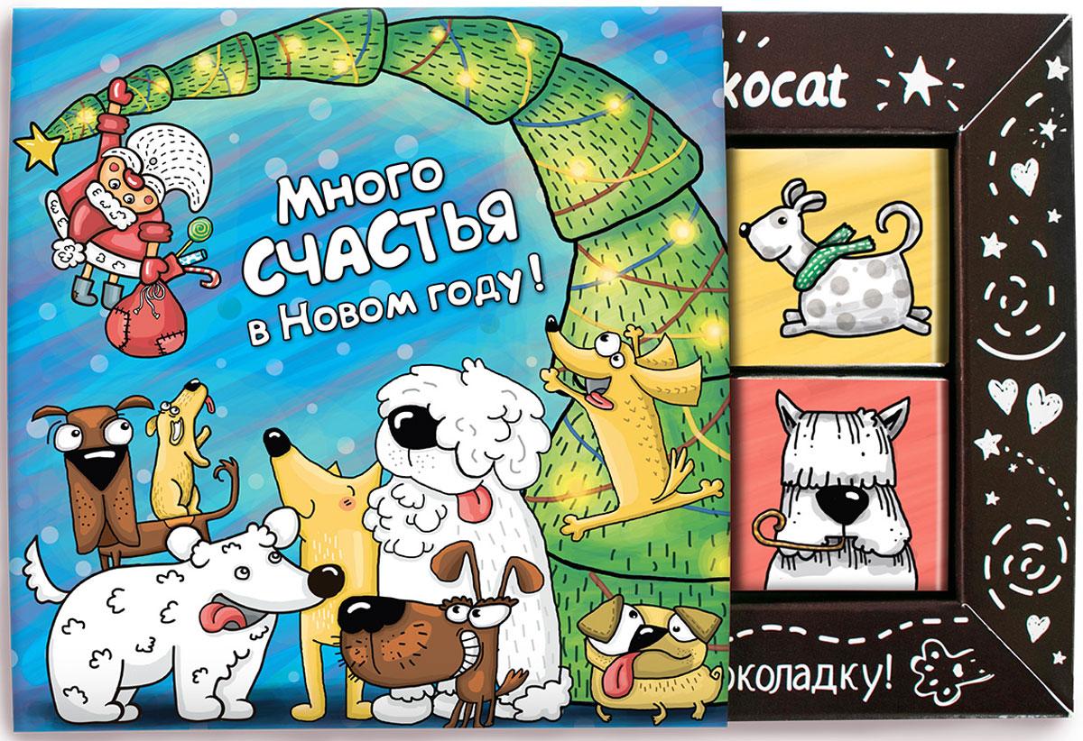 Chokocat Веселый молочный шоколад, 60 г chokocat поздравляю темный шоколад 85 г