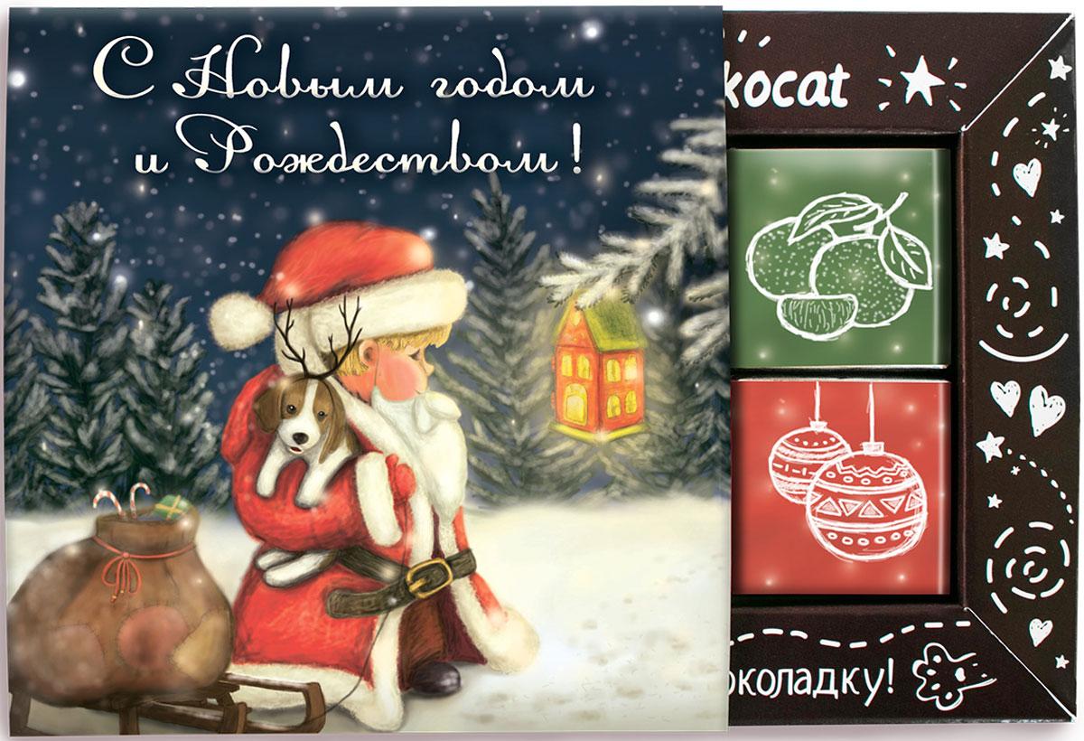 Chokocat Волшебство молочный шоколад, 60 гСТ082Шоколадный набор Волшебство- этот набор принесет счастье, хорошее настроение и чуточку волшебства, ведь в Новый год исполняются даже самые несбыточные мечты! Набор из 12 молочных шоколадок высшего сорта, каждая из которых завернута в оригинальную этикетку с иллюстрацией и надписью - станет прекрасным дополнением к подарку или же самостоятельным подарком.