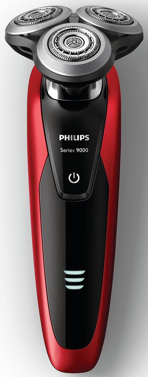 Philips S9151/31 электробритва с системой самоочистки и насадкой-стайлером