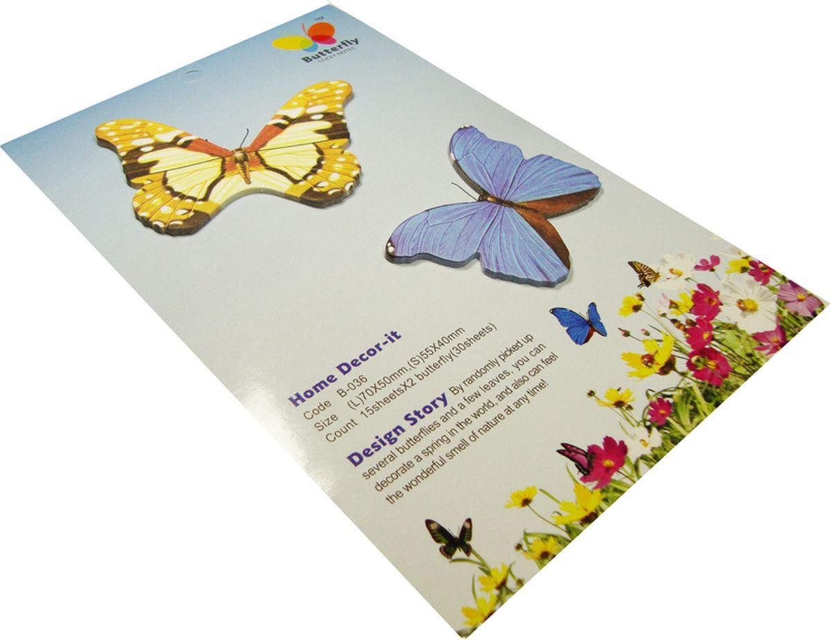Карамба Набор стикеров 2 бабочки 4 30 шт003816Набор стикеров выполнен в виде 2 видов бабочек, каждая из которых состоит из 10-20 листочков.
