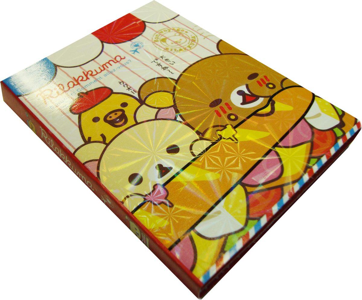 Карамба Набор стикеров Мишки раскладывающийся цвет красный 80 шт набор декоративных листочков scrapberry s цвет белый 20 шт
