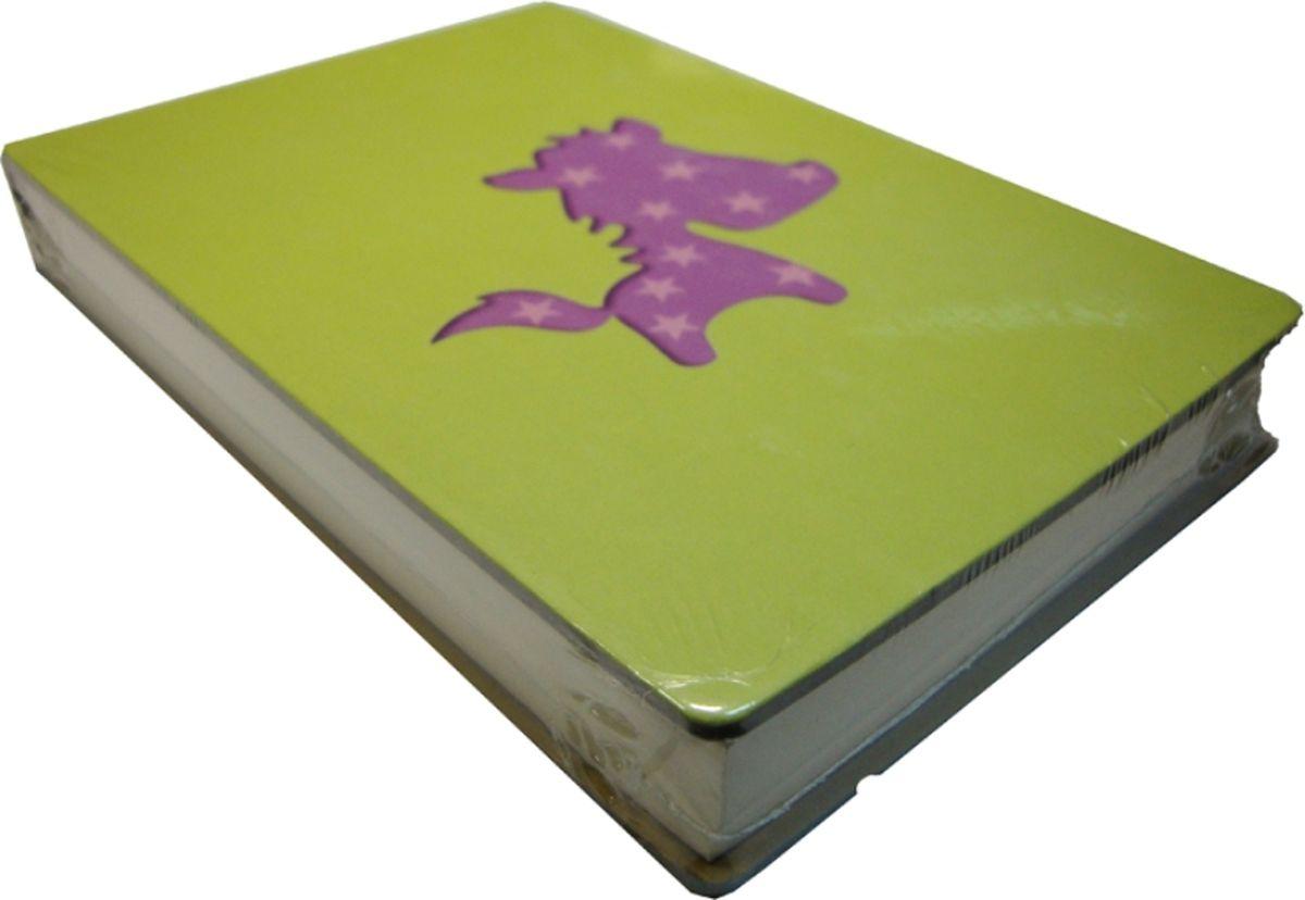Карамба Блокнот С лошадкой цвет зеленый 108 листов карамба блокнот fruit цвет красный 144 листа
