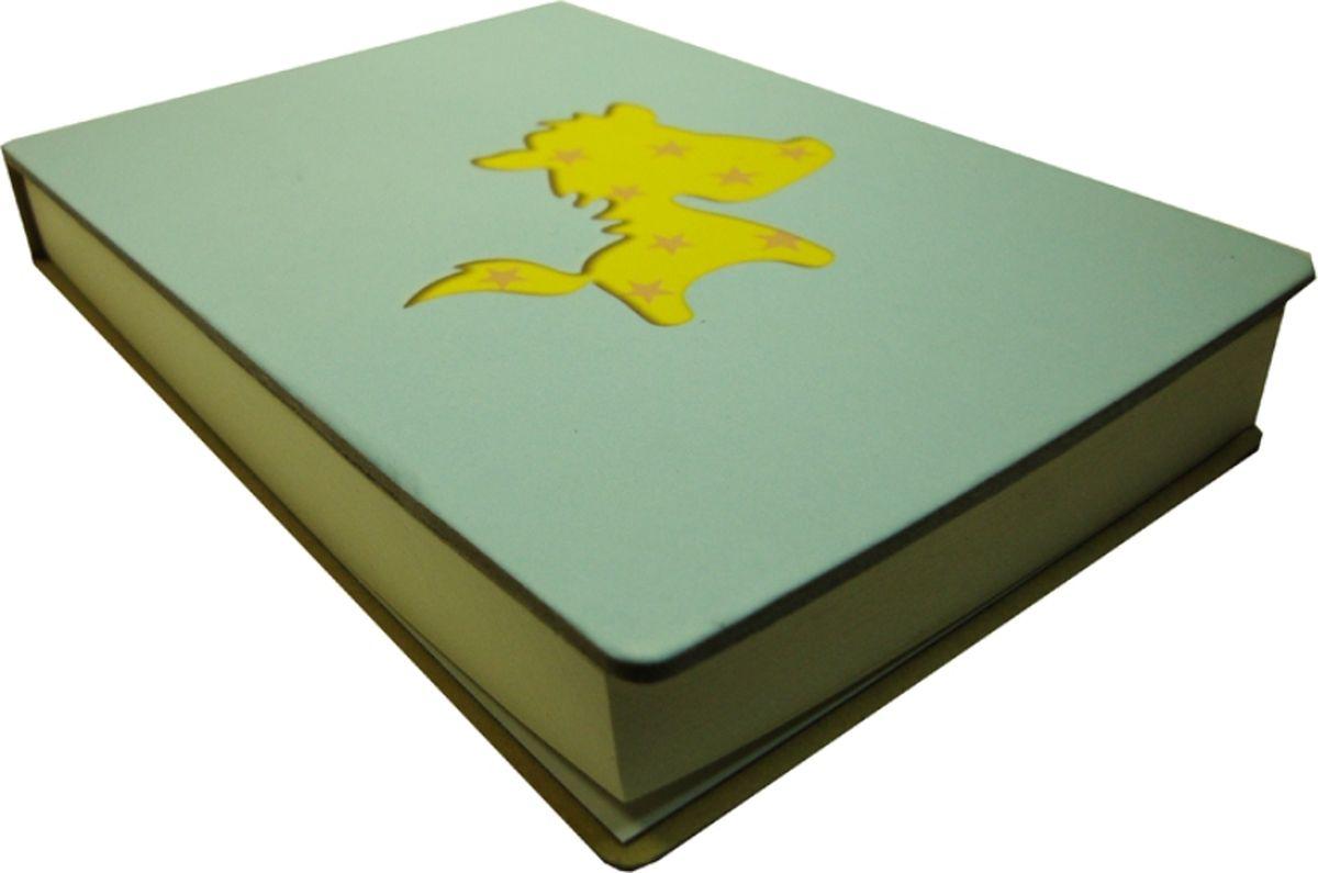 Карамба Блокнот С лошадкой цвет голубой 108 листов004164