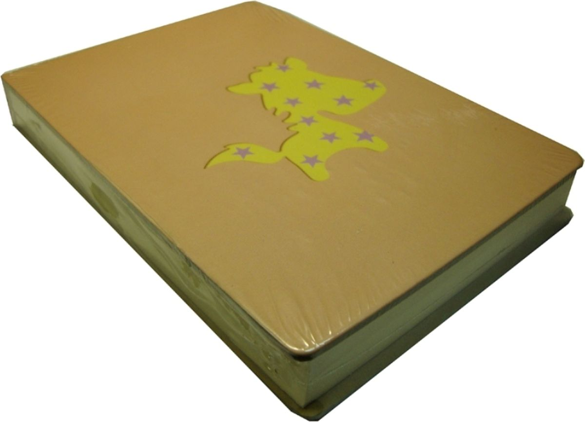 Карамба Блокнот С лошадкой цвет бежевый 108 листов004786
