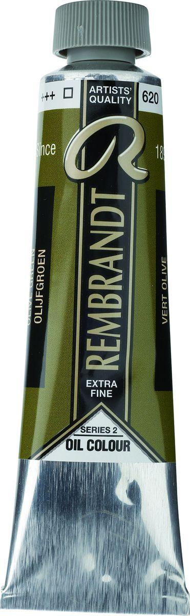 Royal Talens Краска масляная Rembrandt цвет 620 Зеленый оливковый 40 мл01056202Масляные краски Rembrandt – это профессиональные краски исключительно высокого качества и традиций производства с 1899 г. Благодаря высокой концентрации натурального пигмента достигается чистота, насыщенность и глубина цвета. Широкая цветовая палитра и отличный баланс укрывистых и прозрачных оттенков позволят воплотить любые замыслы художника. Работы, написанные масляными красками Rembrandt, на долгие годы сохранят свое великолепие, а цвета не потускнеют и не потеряют интенсивности.Уровень Artist. Основные характеристики:Оптимальная интенсивность цвета с высокой концентрацией пигмента (не содержит наполнителей)Максимальная светостойкость (гарантия сохранения цвета у большинства оттенков – 100 лет)Единая степень вязкостиПалитра из 120 цветов