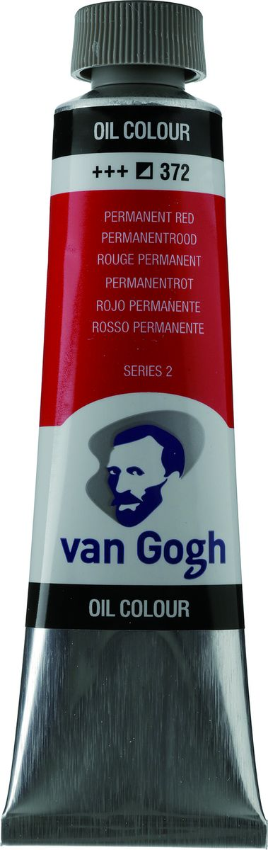 Royal Talens Краска масляная Van Gogh цвет 372 Красный устойчивый 40 мл