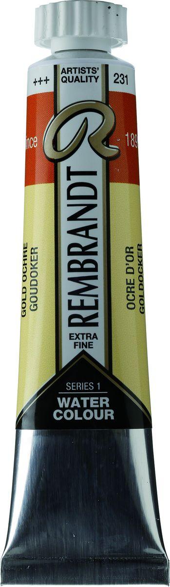 Royal Talens Акварель Rembrandt цвет 231 Охра золотая 20 мл05042310Акварельные краски Rembrandt – это профессиональная акварель, обладающая всеми качествами, которые необходимы современным художникам. Каждый цвет состоит лишь из одного сконцентрированного пигмента и гуммиарабика (аравийской камеди), созданного по уникальной технологии. Краски отличаются высокой степенью светостойкости, прозрачности, обеспечивают отличную цветопередачу. Акварель Rembrandt хорошо ложится на бумагу, позволяя художнику контролировать расход краски с любой сложной фактурой.Уровень Artist.
