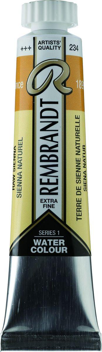 Royal Talens Акварель Rembrandt цвет 234 Сиена натуральная 20 мл05042340Акварельные краски Rembrandt – это профессиональная акварель, обладающая всеми качествами, которые необходимы современным художникам. Каждый цвет состоит лишь из одного сконцентрированного пигмента и гуммиарабика (аравийской камеди), созданного по уникальной технологии. Краски отличаются высокой степенью светостойкости, прозрачности, обеспечивают отличную цветопередачу. Акварель Rembrandt хорошо ложится на бумагу, позволяя художнику контролировать расход краски с любой сложной фактурой.Уровень Artist.