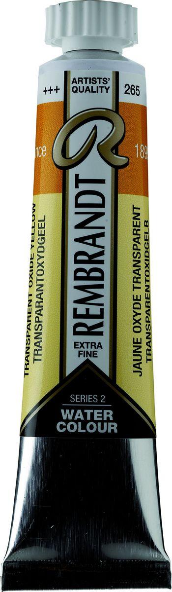 Royal Talens Акварель Rembrandt цвет 265 Желтый оксид прозрачный 20 мл05042650Акварельные краски Rembrandt – это профессиональная акварель, обладающая всеми качествами, которые необходимы современным художникам. Каждый цвет состоит лишь из одного сконцентрированного пигмента и гуммиарабика (аравийской камеди), созданного по уникальной технологии. Краски отличаются высокой степенью светостойкости, прозрачности, обеспечивают отличную цветопередачу. Акварель Rembrandt хорошо ложится на бумагу, позволяя художнику контролировать расход краски с любой сложной фактурой.Уровень Artist.