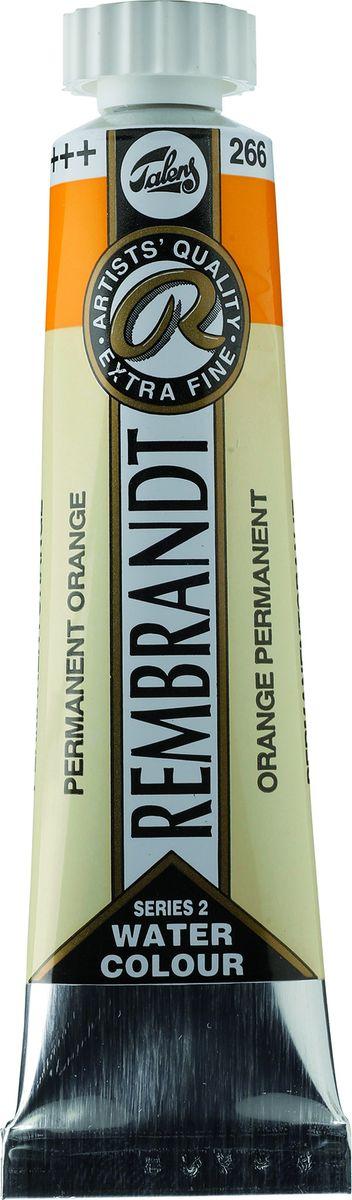 Royal Talens Акварель Rembrandt цвет 266 Оранжевый устойчивый 20 мл05042660Акварельные краски Rembrandt – это профессиональная акварель, обладающая всеми качествами, которые необходимы современным художникам. Каждый цвет состоит лишь из одного сконцентрированного пигмента и гуммиарабика (аравийской камеди), созданного по уникальной технологии. Краски отличаются высокой степенью светостойкости, прозрачности, обеспечивают отличную цветопередачу. Акварель Rembrandt хорошо ложится на бумагу, позволяя художнику контролировать расход краски с любой сложной фактурой.Уровень Artist.