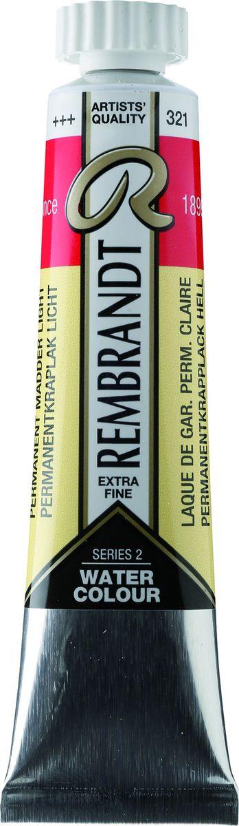 Royal Talens Акварель Rembrandt цвет 321 Краплак светлый устойчивый 20 мл05043210Акварельные краски Rembrandt – это профессиональная акварель, обладающая всеми качествами, которые необходимы современным художникам. Каждый цвет состоит лишь из одного сконцентрированного пигмента и гуммиарабика (аравийской камеди), созданного по уникальной технологии. Краски отличаются высокой степенью светостойкости, прозрачности, обеспечивают отличную цветопередачу. Акварель Rembrandt хорошо ложится на бумагу, позволяя художнику контролировать расход краски с любой сложной фактурой.Уровень Artist.