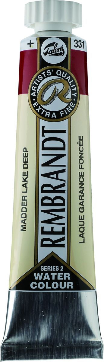 Royal Talens Акварель Rembrandt цвет 331 Краплак насыщенный 20 мл05043310Акварельные краски Rembrandt – это профессиональная акварель, обладающая всеми качествами, которые необходимы современным художникам. Каждый цвет состоит лишь из одного сконцентрированного пигмента и гуммиарабика (аравийской камеди), созданного по уникальной технологии. Краски отличаются высокой степенью светостойкости, прозрачности, обеспечивают отличную цветопередачу. Акварель Rembrandt хорошо ложится на бумагу, позволяя художнику контролировать расход краски с любой сложной фактурой.Уровень Artist.