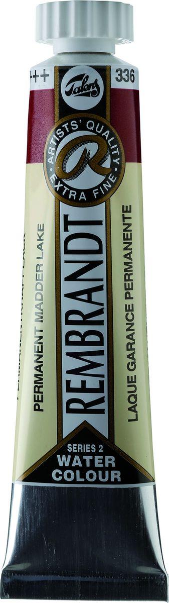 Royal Talens Акварель Rembrandt цвет 336 Краплак устойчивый 20 мл05043360Акварельные краски Rembrandt – это профессиональная акварель, обладающая всеми качествами, которые необходимы современным художникам. Каждый цвет состоит лишь из одного сконцентрированного пигмента и гуммиарабика (аравийской камеди), созданного по уникальной технологии. Краски отличаются высокой степенью светостойкости, прозрачности, обеспечивают отличную цветопередачу.Акварель Rembrandt хорошо ложится на бумагу, позволяя художнику контролировать расход краски с любой сложной фактурой. Уровень Artist.