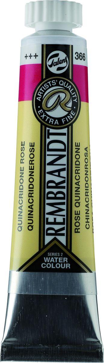 Royal Talens Акварель Rembrandt цвет 366 Розовый квинакридон 20 мл05043660Акварельные краски Rembrandt – это профессиональная акварель, обладающая всеми качествами, которые необходимы современным художникам. Каждый цвет состоит лишь из одного сконцентрированного пигмента и гуммиарабика (аравийской камеди), созданного по уникальной технологии. Краски отличаются высокой степенью светостойкости, прозрачности, обеспечивают отличную цветопередачу.Акварель Rembrandt хорошо ложится на бумагу, позволяя художнику контролировать расход краски с любой сложной фактурой. Уровень Artist.