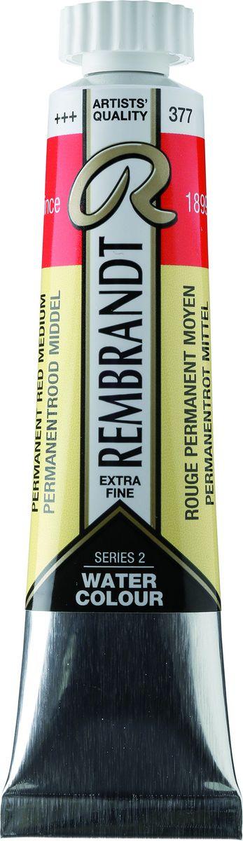 Royal Talens Акварель Rembrandt цвет 377 Красный средний устойчивый 20 мл05043770Акварельные краски Rembrandt – это профессиональная акварель, обладающая всеми качествами, которые необходимы современным художникам. Каждый цвет состоит лишь из одного сконцентрированного пигмента и гуммиарабика (аравийской камеди), созданного по уникальной технологии. Краски отличаются высокой степенью светостойкости, прозрачности, обеспечивают отличную цветопередачу. Акварель Rembrandt хорошо ложится на бумагу, позволяя художнику контролировать расход краски с любой сложной фактурой.Уровень Artist.