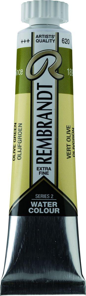 Royal Talens Акварель Rembrandt цвет 620 Зеленый оливковый 20 мл