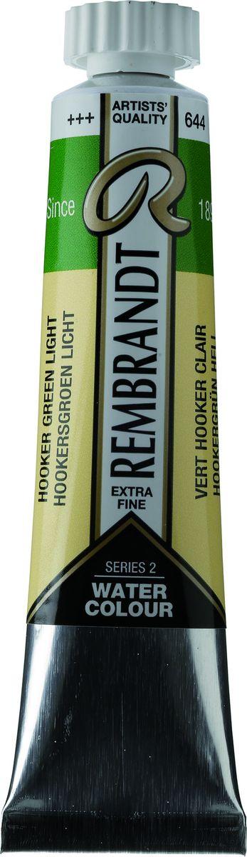Royal Talens Акварель Rembrandt цвет 644 Зеленый Хукера светлый 20 мл05046440Акварельные краски Rembrandt – это профессиональная акварель, обладающая всеми качествами, которые необходимы современным художникам. Каждый цвет состоит лишь из одного сконцентрированного пигмента и гуммиарабика (аравийской камеди), созданного по уникальной технологии. Краски отличаются высокой степенью светостойкости, прозрачности, обеспечивают отличную цветопередачу.Акварель Rembrandt хорошо ложится на бумагу, позволяя художнику контролировать расход краски с любой сложной фактурой. Уровень Artist.