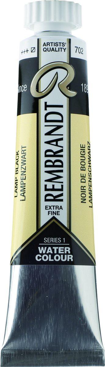 Royal Talens Акварель Rembrandt цвет 702 Сажа газовая 20 мл05047020Акварельные краски Rembrandt – это профессиональная акварель, обладающая всеми качествами, которые необходимы современным художникам. Каждый цвет состоит лишь из одного сконцентрированного пигмента и гуммиарабика (аравийской камеди), созданного по уникальной технологии. Краски отличаются высокой степенью светостойкости, прозрачности, обеспечивают отличную цветопередачу. Акварель Rembrandt хорошо ложится на бумагу, позволяя художнику контролировать расход краски с любой сложной фактурой.Уровень Artist.