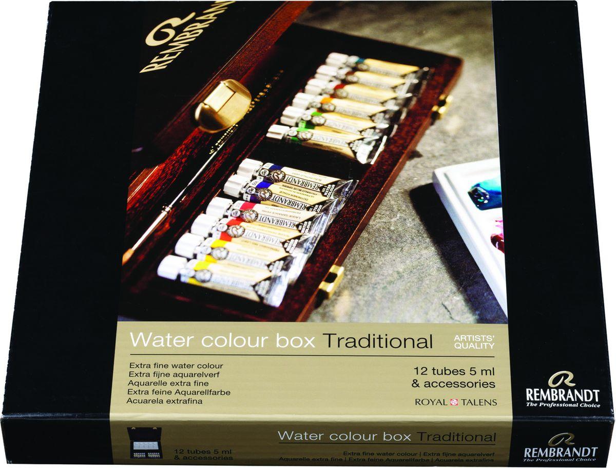 Royal Talens Набор акварельных красок Rembrandt Профессиональный 12 цветов05840005Акварельные краски Rembrandt – это профессиональная акварель, обладающая всеми качествами, которые необходимы современным художникам. Каждый цвет состоит лишь из одного сконцентрированного пигмента и гуммиарабика (аравийской камеди), созданного по уникальной технологии. Краски отличаются высокой степенью светостойкости, прозрачности, обеспечивают отличную цветопередачу. Акварель Rembrandt хорошо ложится на бумагу, позволяя художнику контролировать расход краски с любой сложной фактурой.Уровень Artist.