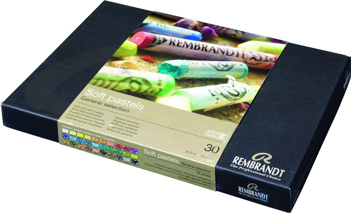 Royal Talens Набор пастели Rembrandt Базовый 30 цветов 31823031 -  Мелки и пастель