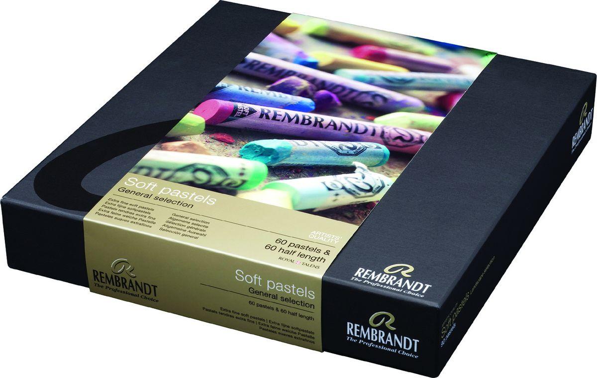 Royal Talens Набор пастели Rembrandt Мастер 120 цветов -  Мелки и пастель