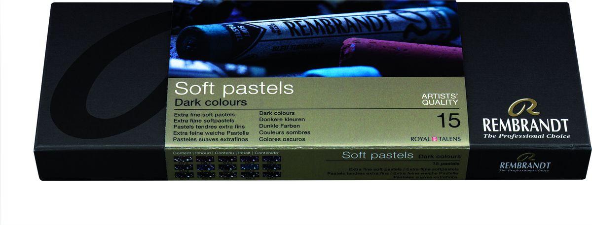 Royal Talens Набор пастели Rembrandt Стартовый 15 темных цветов31823033Профессиональная сухая пастель Rembrandt – это высококачественная серия сухой пастели как для профессионалов, так и для художников-любителей. ПастельRembrandtпроизводится из чистейших пигментов с великолепным по качеству закрепителем из каолиновой глины, имеет высокий уровень светостойкости, хорошо ложится на бумагу практически любого типа, мелки не крошатся и не ломаются.Максимальная концентрация пигмента способствует оптимальной интенсивности цвета.
