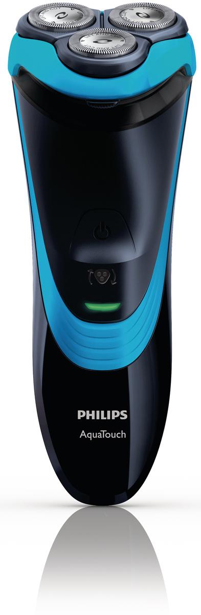 PhilipsAquaTouch AT756/16 электробритвас откидным триммеромAT756/16Насладитесь освежающим бритьем, не повреждая кожу, благодаря бритве Philips AT756/16 AquaTouch для сухого и влажного бритья. Уплотнение Aquatec гарантирует комфортное сухое и освежающее влажное бритье. Для большего комфорта используйте пену или гель для бритья. Наслаждайтесь ощущением комфорта и свежести во время бритья.Полностью водонепроницаемаяБыстрая очистка отсека для волосБыстрая зарядка за 3 минуты, полная зарядка: 1 часТехнология динамичного повторения контуров лицаВстроенная насадка-триммерСистема DualPrecision сбривает длинные волоски и короткую щетинуЛезвия Super Lift&Cut, приподнимающие волоски