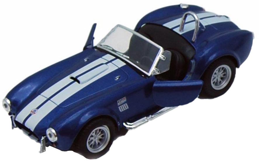 Kinsmart Модель автомобиля Shelby Cobra 1965 427 S/C цвет синий shelby cobra 427 s c