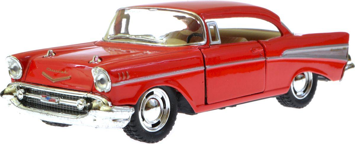 Kinsmart Модель автомобиля Chevrolet Bel Air 1957 цвет красный