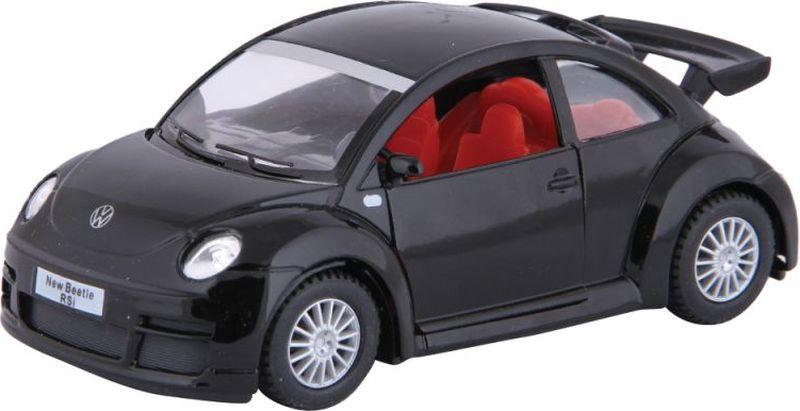 maisto радиоуправляемая модель volkswagen beetle цвет желтый Kinsmart Модель автомобиля Volkswagen New Beetle Rsi цвет черный