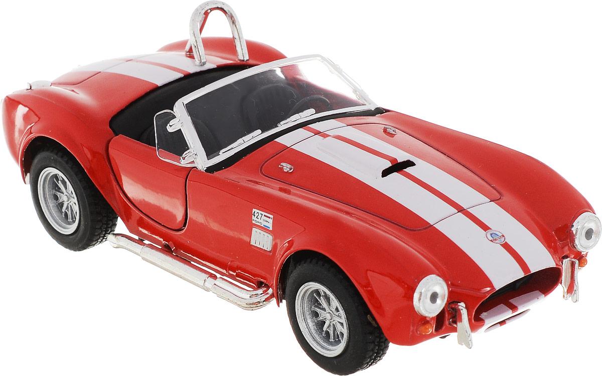 Kinsmart Модель автомобиля 1965 Shelby Cobra 427 S/C цвет красный shelby cobra 427 s c
