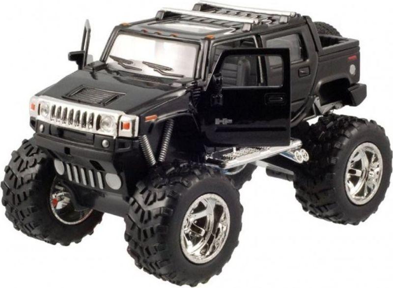 все цены на  Kinsmart Модель автомобиля Hummer H2 SUT Off Road цвет черный  онлайн