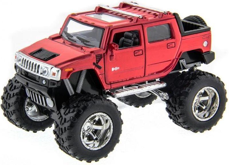 все цены на  Kinsmart Модель автомобиля Hummer H2 SUT Off Road цвет красный  онлайн