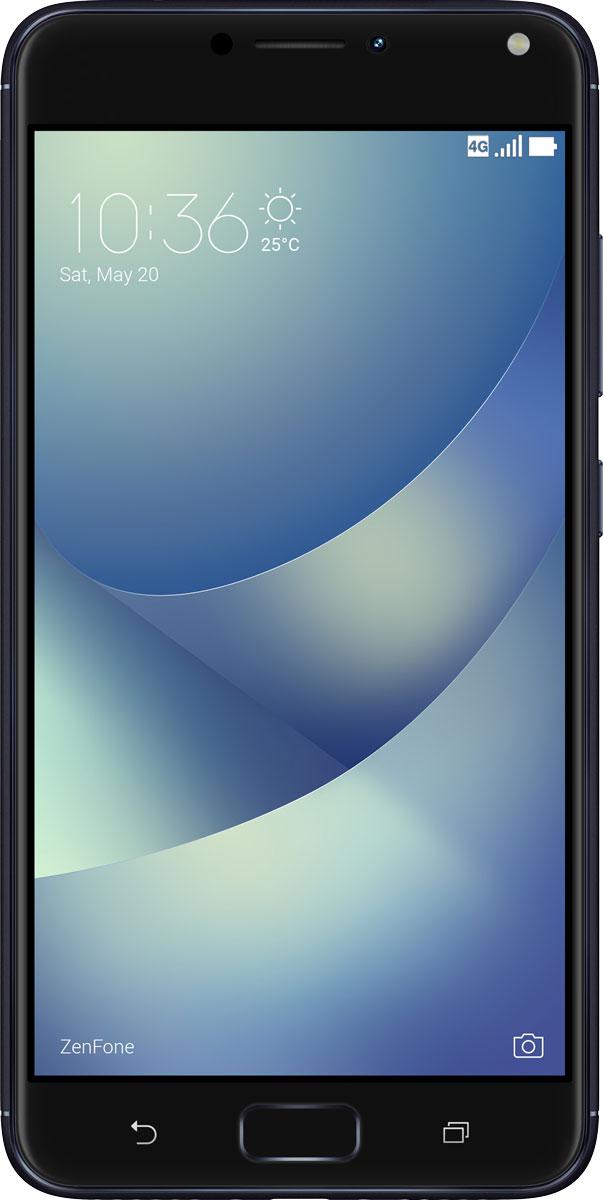 ASUS ZenFone 4 Max ZC554KL, Black - Смартфоны