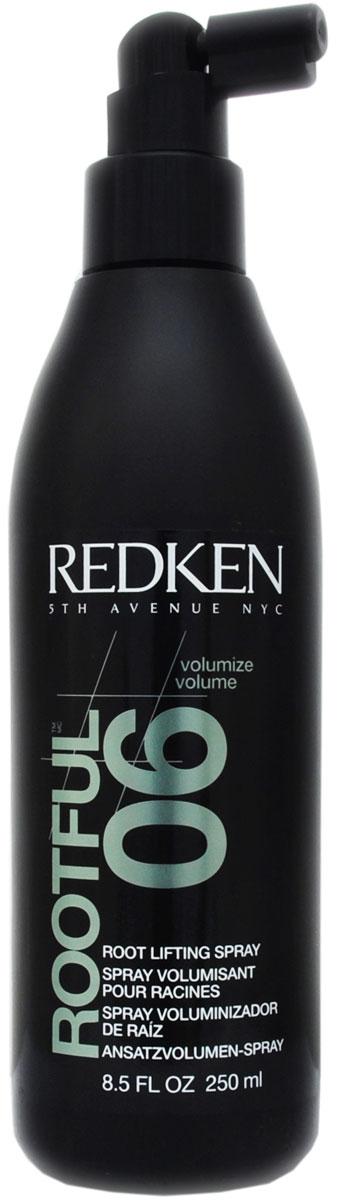 Redken Volume Rootful 06 Спрей для прикорневого объема, 250 млP0052203Спрей для прикорневого объема Rootful средней фиксации подходит для любого типа волос. Инновационная технология Clean-feel придаст вашим волосам просто головокружительный объем, создав идеальную укладку. Спрей очень удобен в использовании благодаря аппликатору для точного нанесения, который приподнимает волосы, позволяя наносить средство точно на их корни, что обеспечивает наилучший объем прическе. Легкое средство не создает эффекта липких, склеенных волос. Уважаемые клиенты! Обращаем ваше внимание на то, что упаковка может иметь несколько видов дизайна. Поставка осуществляется в зависимости от наличия на складе.
