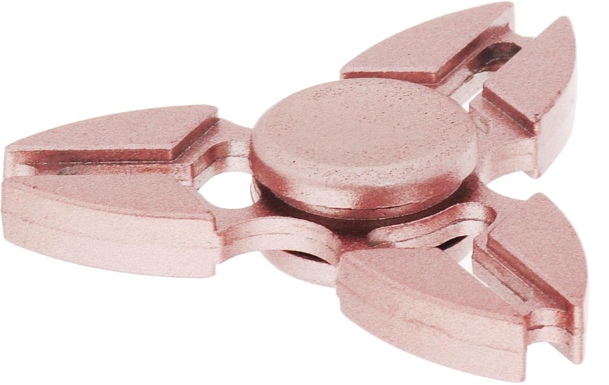 TipTop Спиннер цвет серебристо-розовый спиннер утяжеленный с глянцевым покрытием металлик розовый